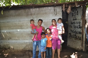 House #10 for the Mondragon family who have lived under this type of shelter is the next community project.