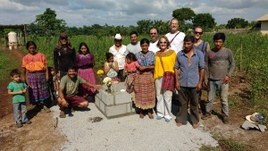 The village of La Verde which had suffered lack of water until early December now enjoy a new supply from the well drilled with the Douglas Family Team (Kirk, Gloria and Dane) Santiago, the locals and Hugo Jr