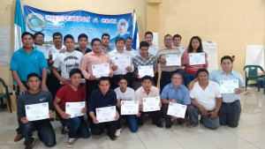 Fuente de Vida Denomination Leaders in Guatemala completed TOT1 Seminar. Felipe, Hugo Jr and Sr had the privilege to share CHE with them in September. Need to pray for the follow up for implementation.