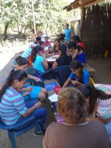 grupo de jovenes en las Marias