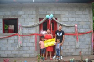 But now the Castillo-Herrera family enjoy shelter plus lifted dignity as they have earned it through a minimum of 200 hours of CHE Community volunteer service.